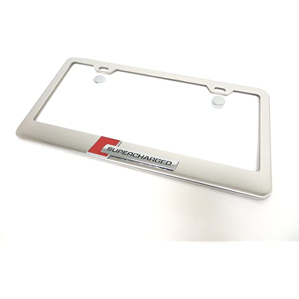 Got Turbo This Does Chrome Metal License Plate Frame Tag Holder