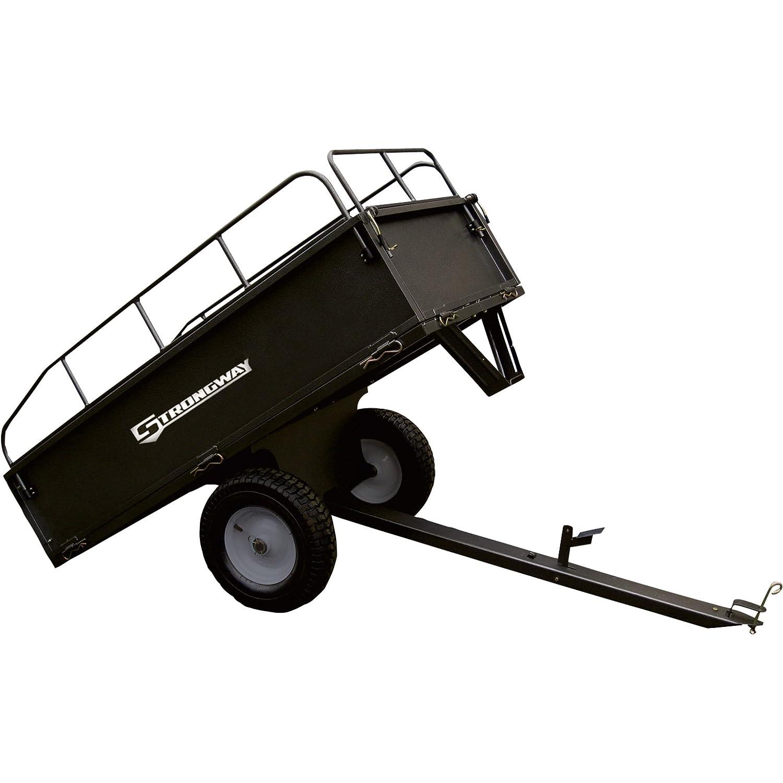 strongway Acero Dump carro - 1, 200-lb. Capacidad, 17 CU. FT.: Amazon.es: Jardín