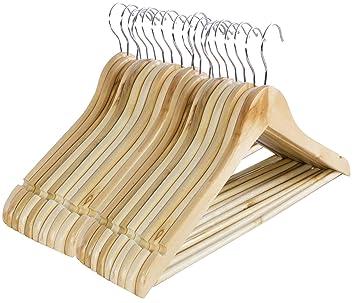 Kleiderbügel Aus Holz 20 Stck Amazonde Küche Haushalt