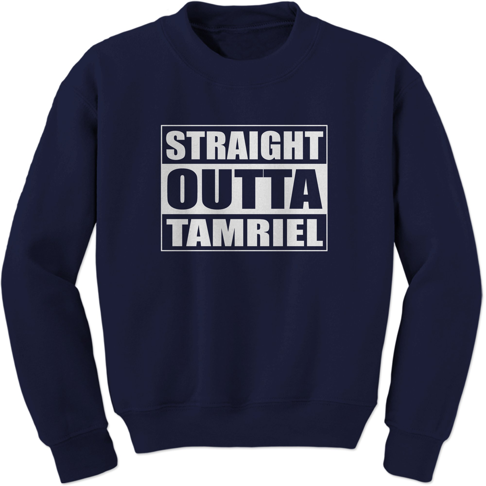 Straight Outta Tamriel Gamer Crewneck 9601 Shirts