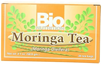 Bio Nutrition Moringa Tea Bags, 30 Count by Bio Nutrition: Amazon.es: Salud y cuidado personal