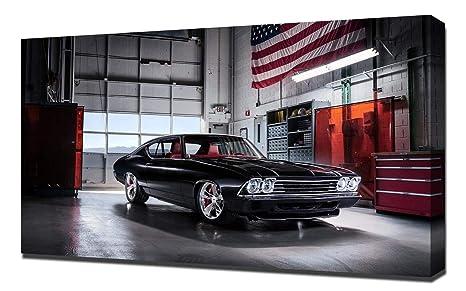 Chevy Chevelle 2016 >> Amazon Com Lilarama Usa 2016 Chevrolet Chevelle Slammer