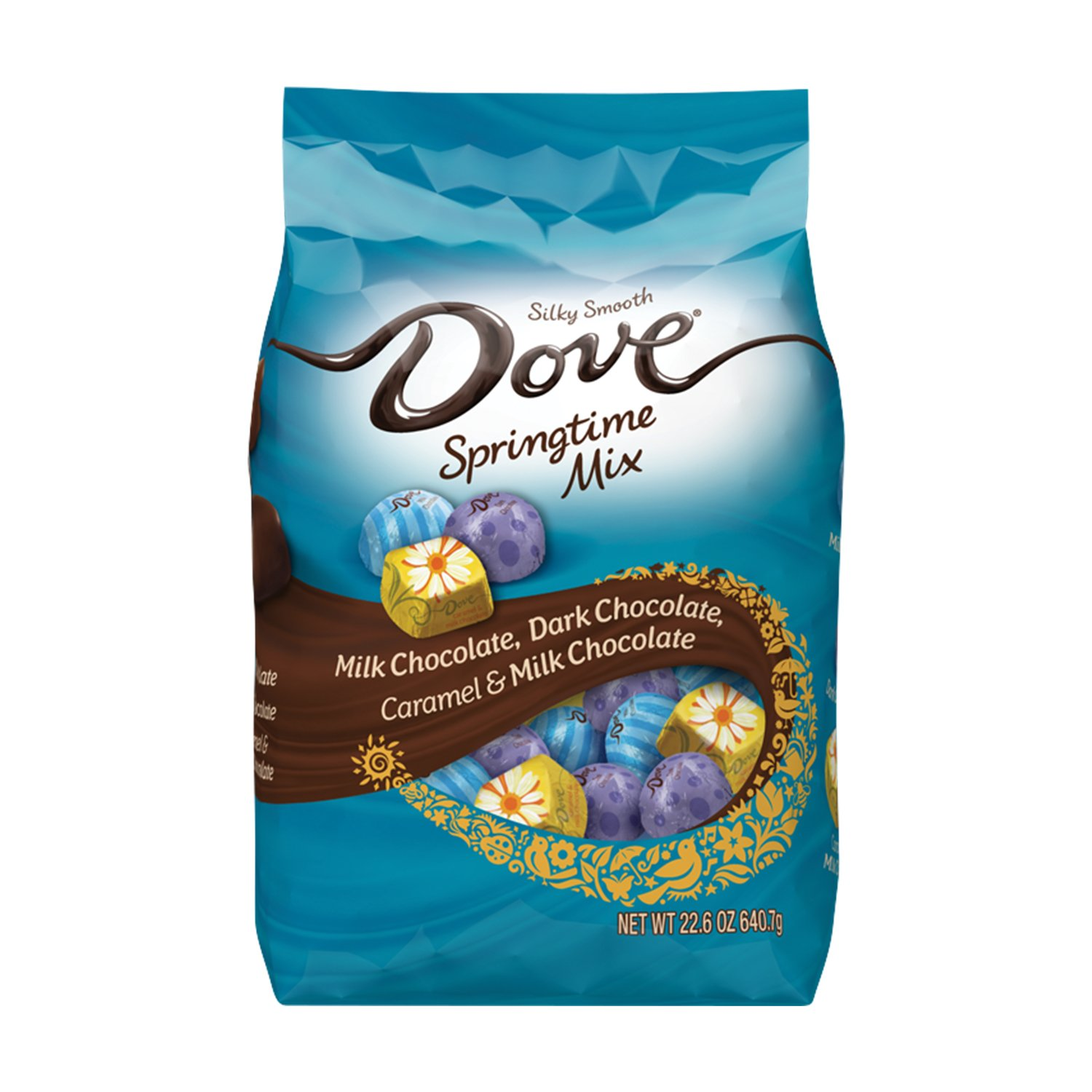 DOVE Easter Assorted Springtime Mix Chocolate Candy, 22.6 Ounce