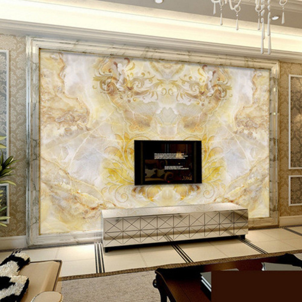 Advanced 3D Photo Wall Murals Non-woven Wallpaper Classical Luxury ...