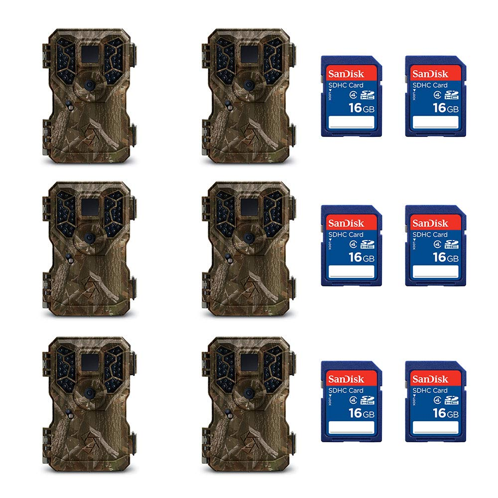 SD Memory Card 6-Pack Stealth Cam SD Memory Card