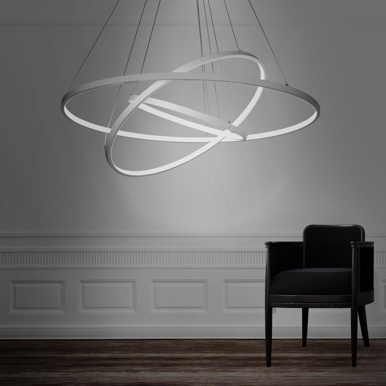LightInTheBox Suspension design moderne en forme d anneau  LED