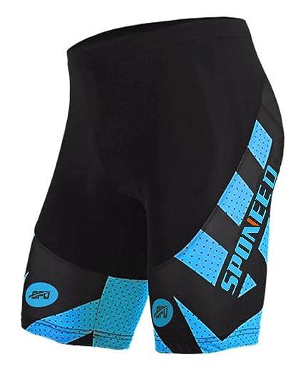 sponeed Cycling Shorts for Men Cycle Bike Pants Riding Anti-Slip Road Biking  3D Gel 908ee6191