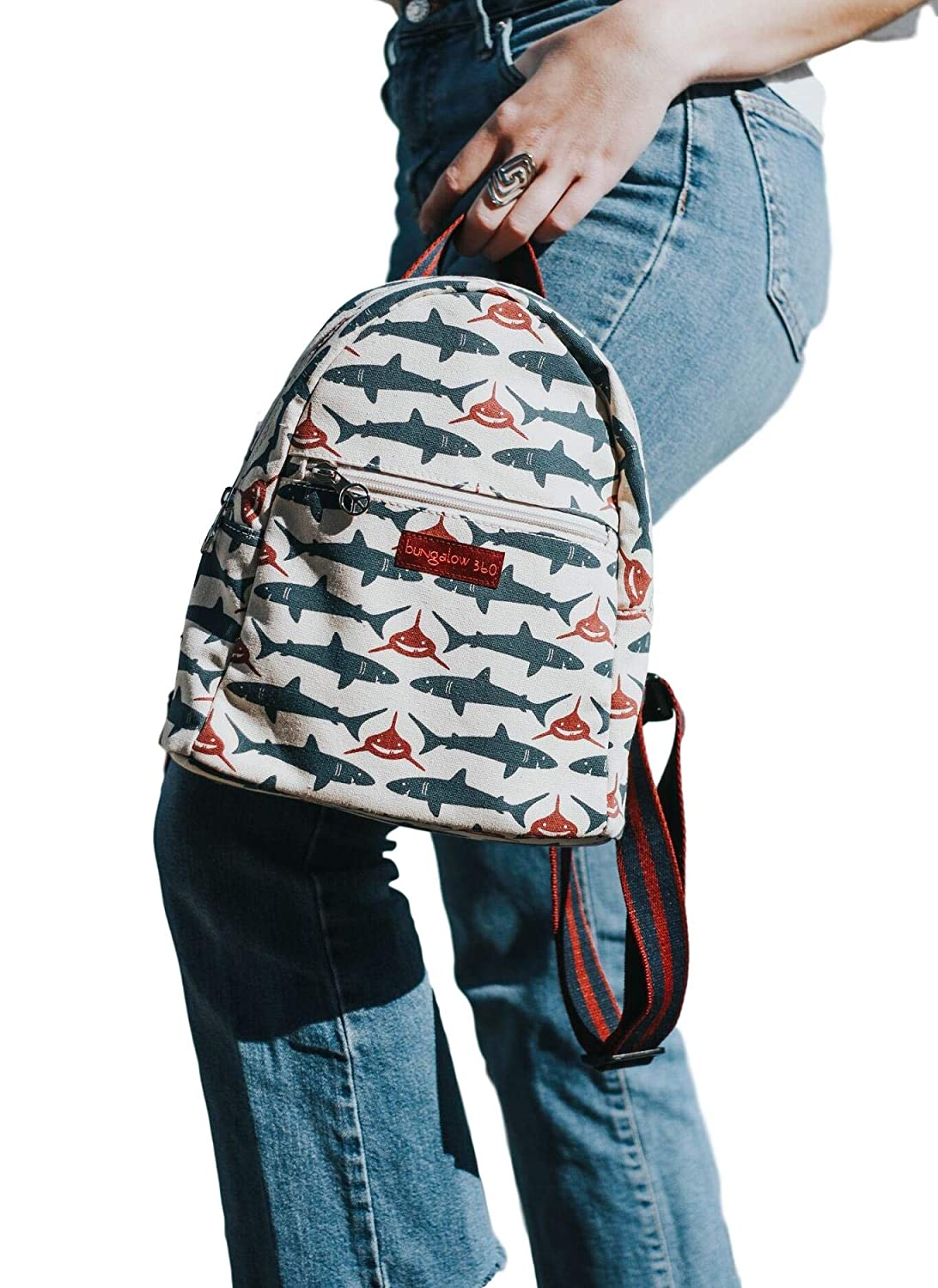 Sloth, small Bungalow 360 Adult Mini Backpack