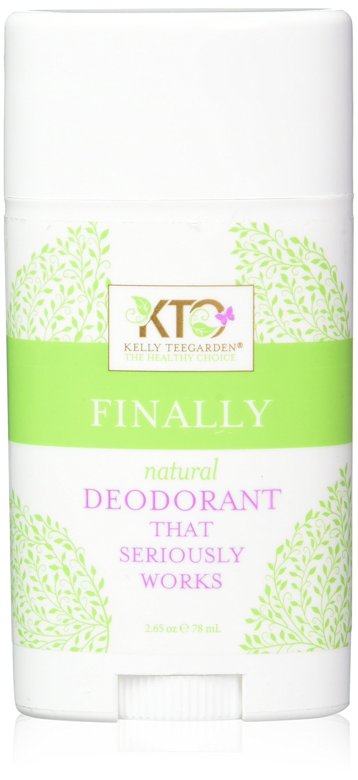 Kelly Teegarden finally - Natural deodorant that Seriously Works, 2.65 Ounce