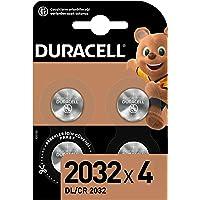 Duracell Özel 2032 Lityum Düğme Pil 3V, 4'li paket (DL2032/CR2032) anahtarlıklar, tartılar, giyilebilen eşyalar ve tıbbi…