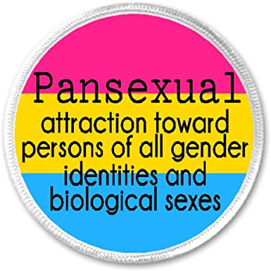 Amazon Com Pansexual Attraction Toward All Genders 3 Sew Iron On Patch Definition Pride Clothing