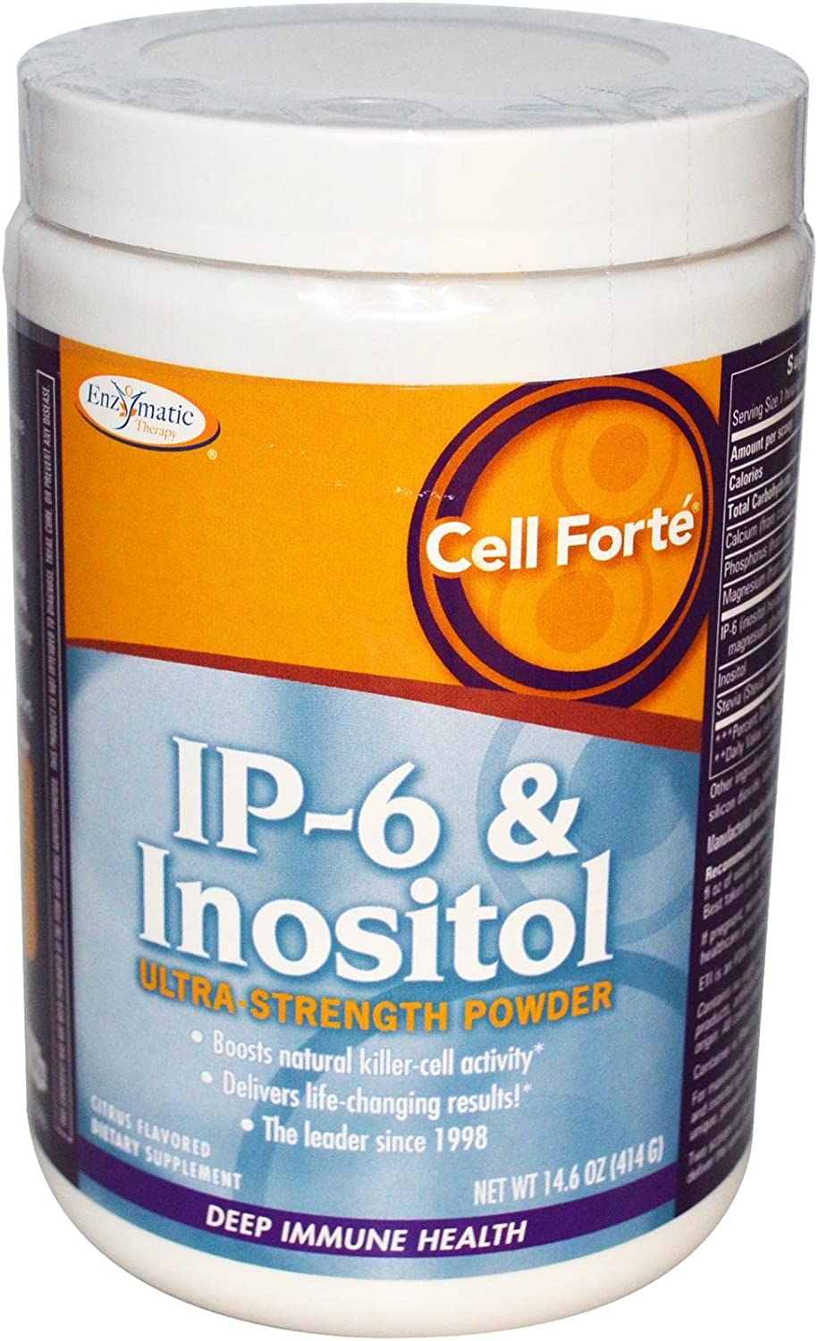 Enzymatic Therapy - Cell Fort� w/IP-6 & Inositol powder - 14.6 oz