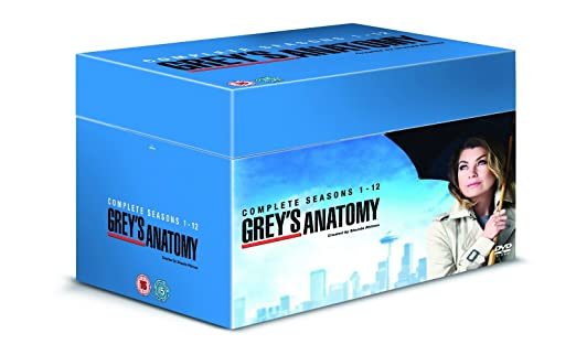 Greys Anatomy Season 1 12 Dvd Amazon Ellen Pompeo