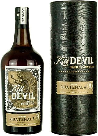 Kill Devil 9 Años de Edad Guatemala Solo Barril - Ron en Caja de Regalo, 700 ml