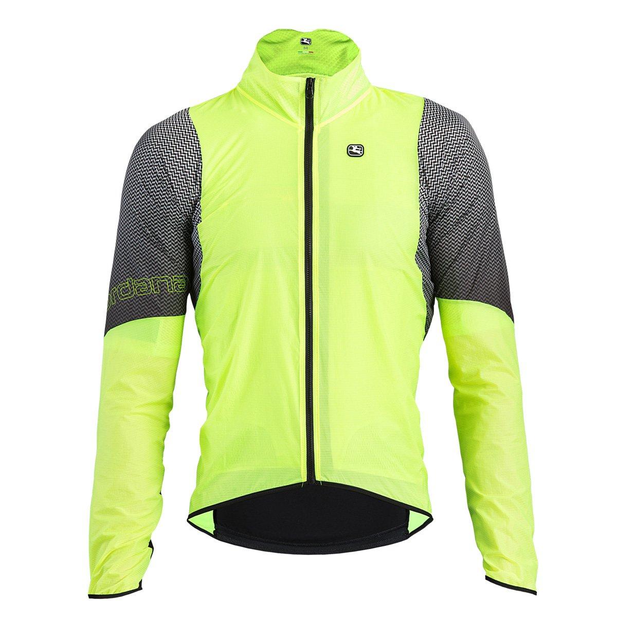 Giordana 2018メンズnx-g風サイクリングジャケット – gics18-jckt-nxgl B07BKP92QB X-Large Fluo/Black Fluo/Black X-Large