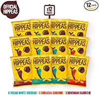 12-Count HIPPEAS Organic Chickpea Puffs 1.5oz
