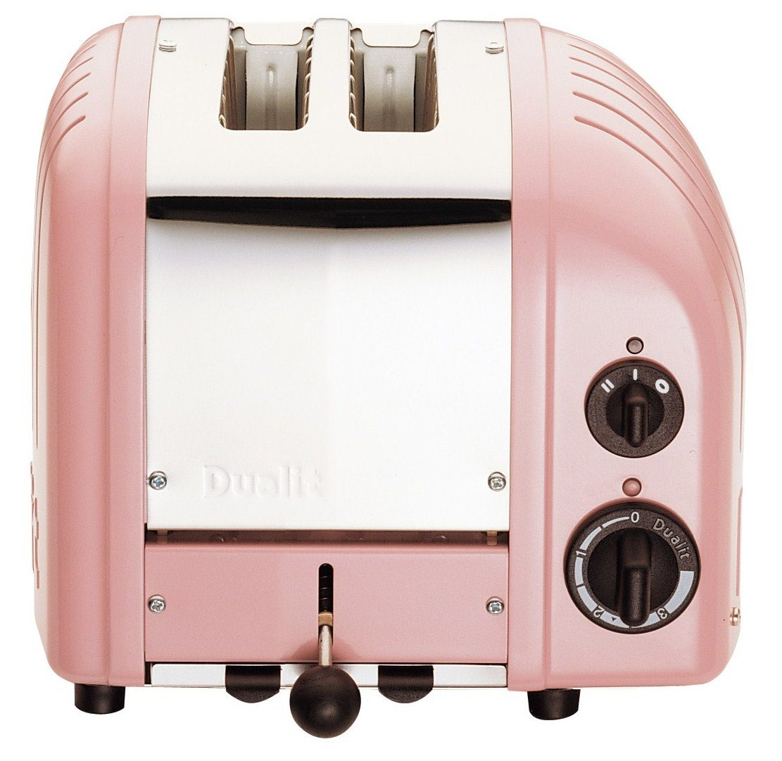 Dualit 2 Slice Classic Toaster, Apple Candy Red Dunlop 27171