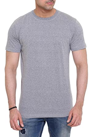 f529e91e Colors & Blends Men's Cotton Round Neck Grindle T-shirt: Amazon.in:  Clothing & Accessories