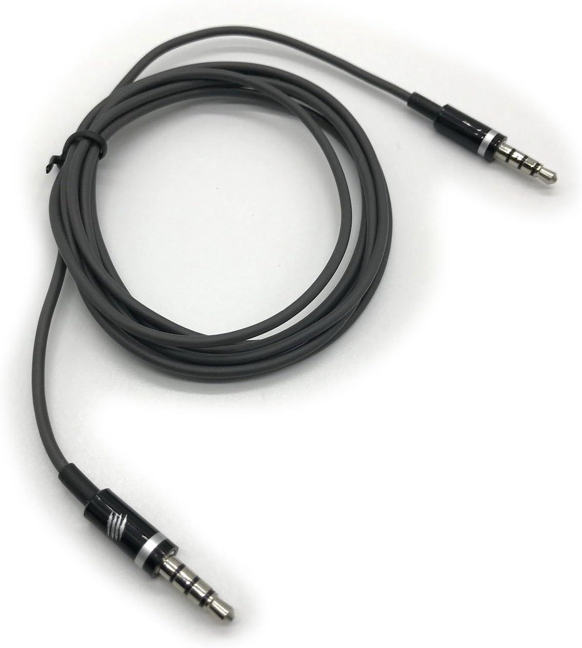 Cable de Audio estéreo con 3 Anillas TRRS DE 3,5 mm para Auriculares y Smartphones Android, LED, TV, Coche, HiFi, Sonido AUX, Entrada (1,5 m de Largo): Amazon.es: Electrónica