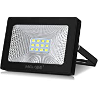 Focos Led Exterior MEIKEE Focos Led 10W Foco Proyector LED 1100LM Impermeable IP66 LED Seguridad Floodlight Iluminación…