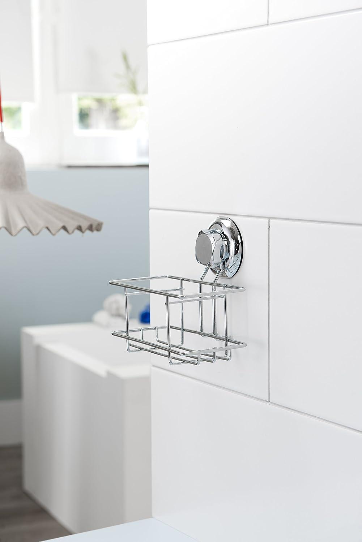 Compactor Bestlock Kitchen Portautensili 16.5x11.2xh.14.8 cm Cromo Lucido Metallo