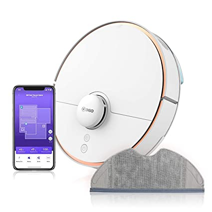 360 S7 Laser Navigation Robot Vacuum Cleaner with SLAM Route ...