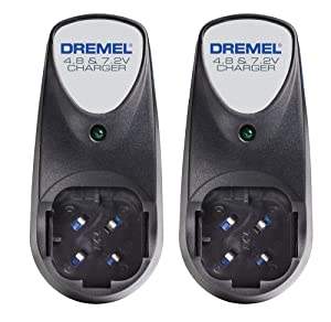 Dremel 760-01 760-01 Dual Voltage Replacement (2 Pack) 4.8-volt and 7.2-volt 3-Hour Battery Charger # 760-01-2pk