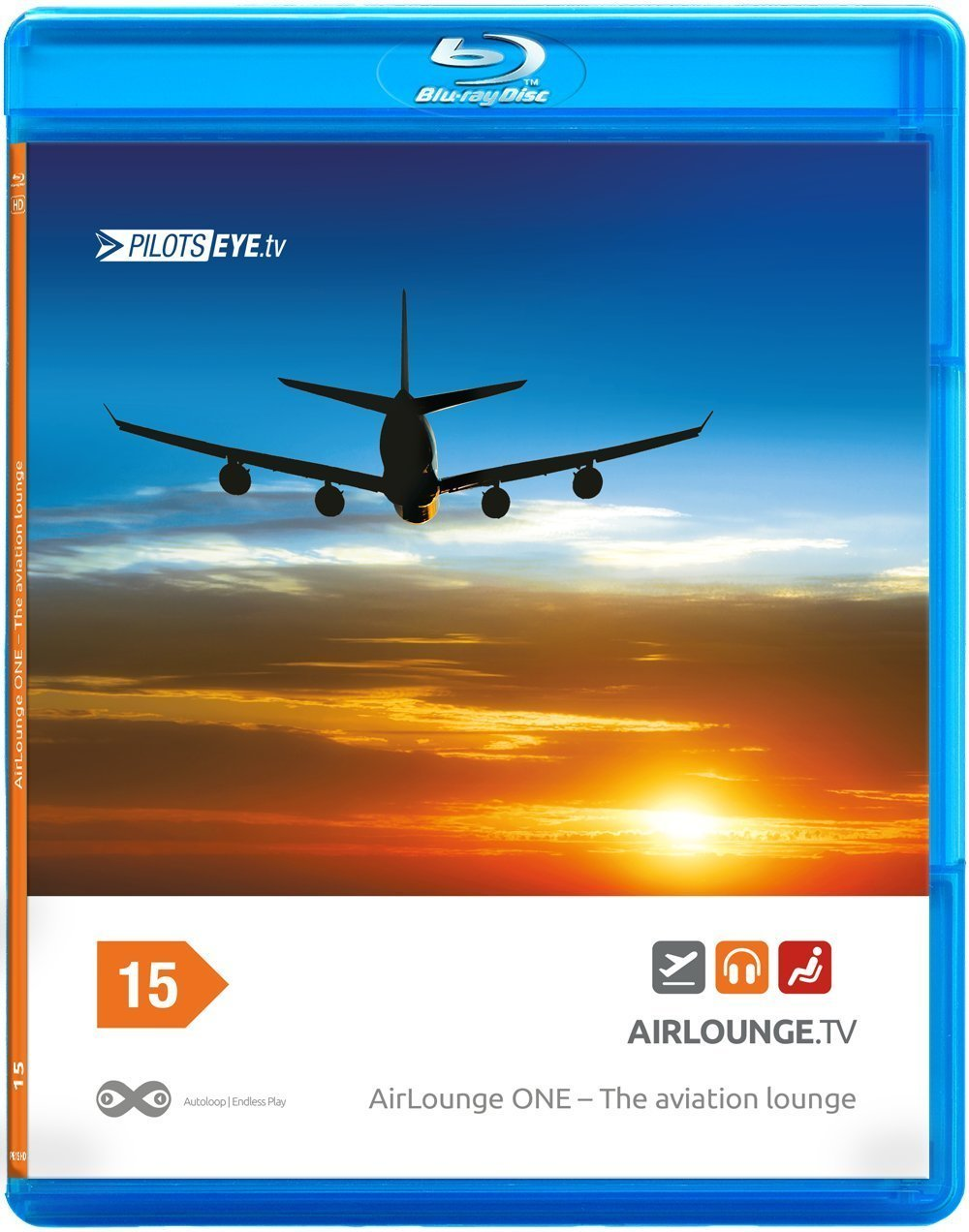 PilotsEYE.tv | AIRLOUNGE ONE |:| Blu-ray Disc® |:| The aviation Lounge - 80min Aviation Ambience [Reino Unido] [Blu-ray]