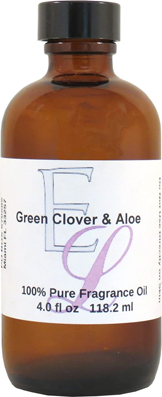 Green Clover and Aloe Fragrance Oil, 4 oz