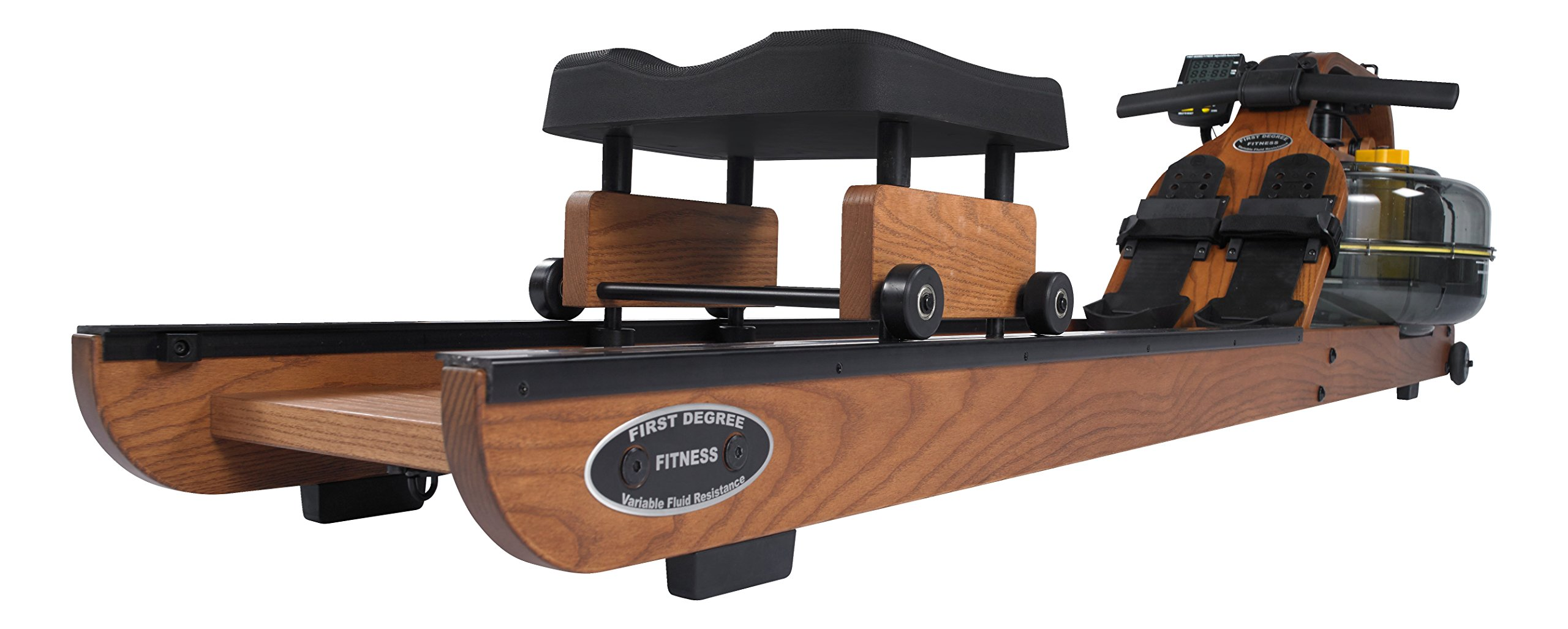 First Degree Fitness Indoor Rower, Viking 3 AR - American Ash - Horizontal Series by First Degree Fitness (Image #2)