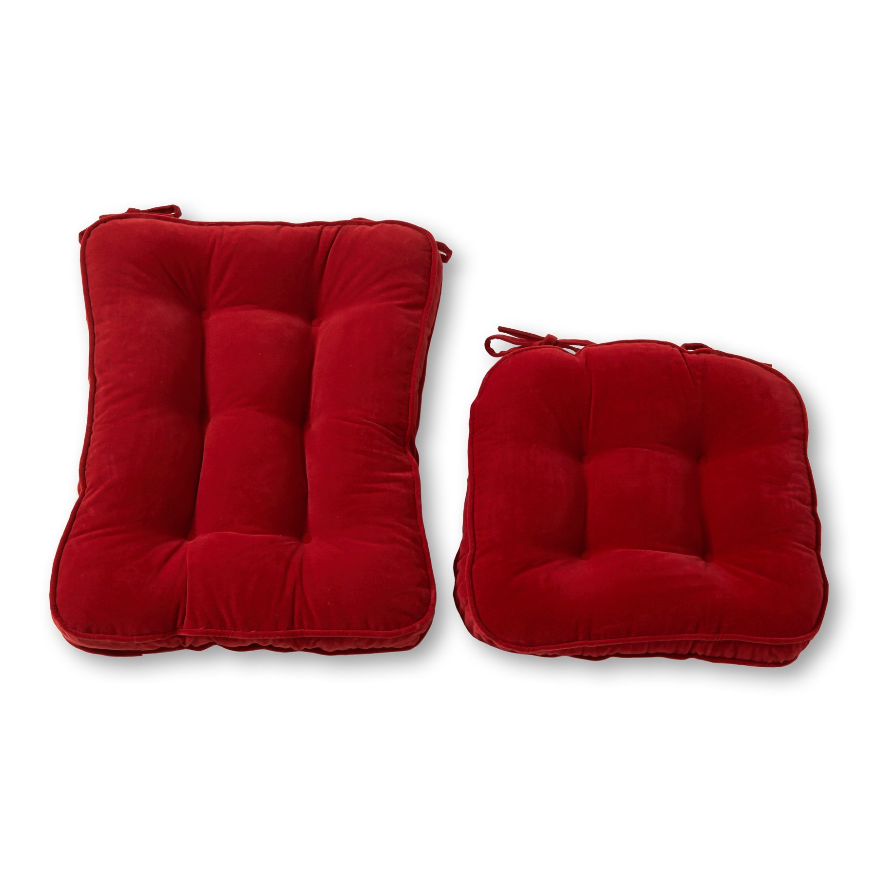 Rocking Chair Cushions Red Pads Jumbo Glider Rocker High