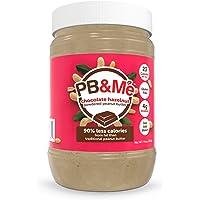 PB&我 - 搽粉的花生酱巧克力榛子 - 16 盎司