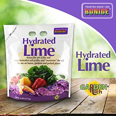 Bonide Chemical 978 B00BSH0U4A Number-5 Hydrated Lime for Soil-5 Pounds, Multi : Garden & Outdoor