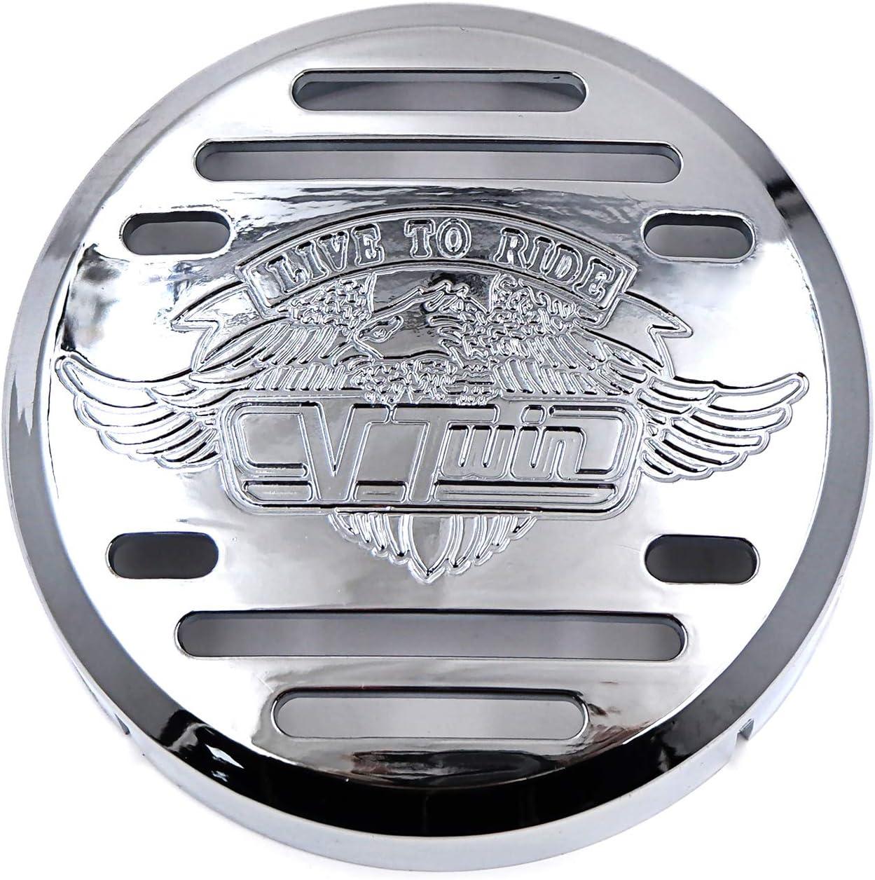 B00RUEPQIU SMT-Horn Cover Compatible with Kawasaki Vulcan 800 Yamaha V-Star 650 1100 Classic Silverado Chr