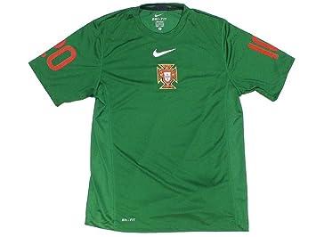 Nike Portugal - Camiseta de fútbol para hombre, tamaño XL, color amarillo
