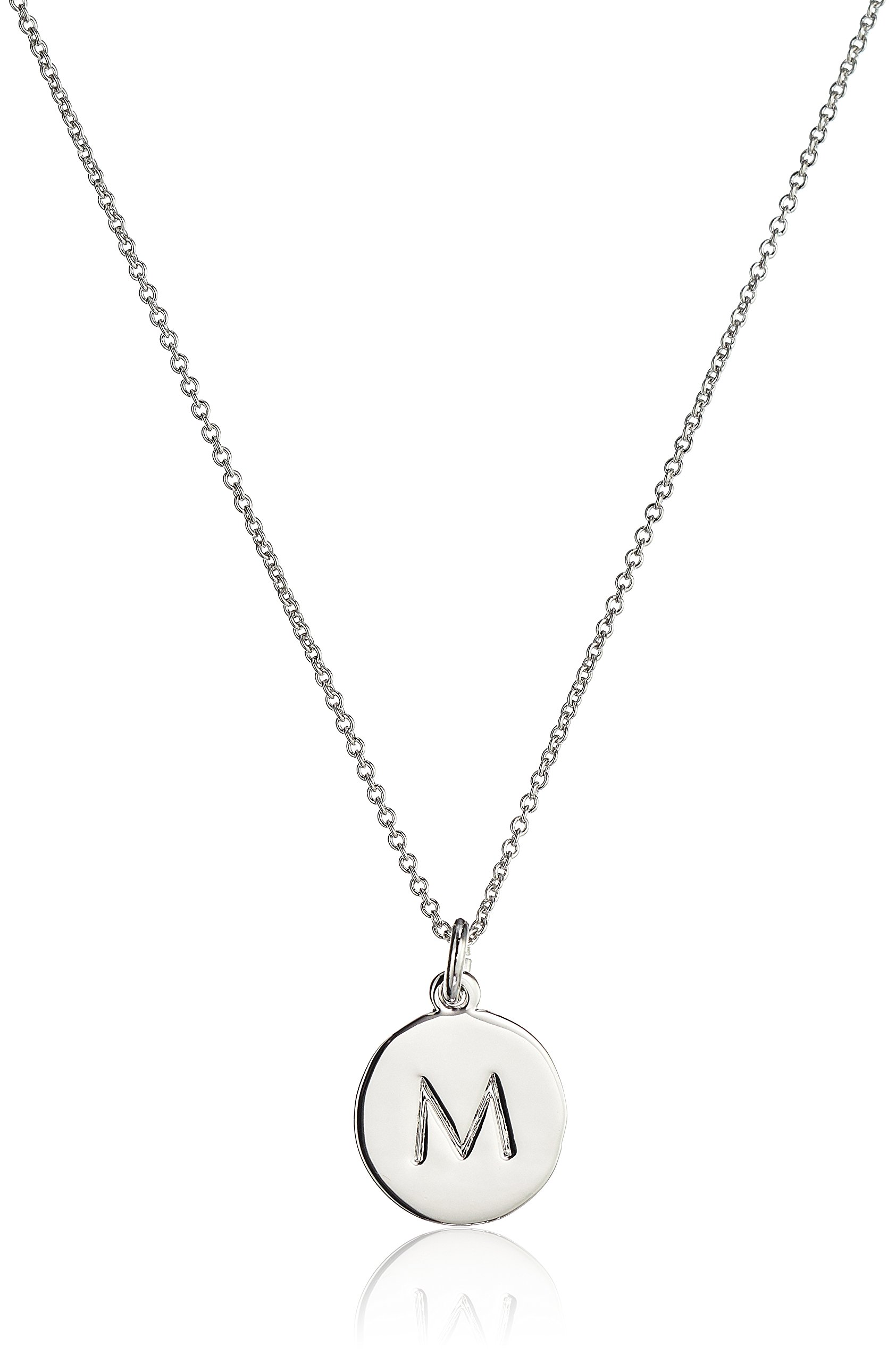 Kate Spade New York  ''M Pendant Necklace, 20'' + 3'' Extender