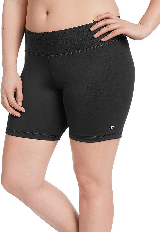 Champion Womens Plus Absolute Shorts 7 inch Compression Gym Activewear sz XL-4XL
