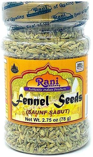 Rani Fennel Seeds (Saunf Sabut) Indian Origin