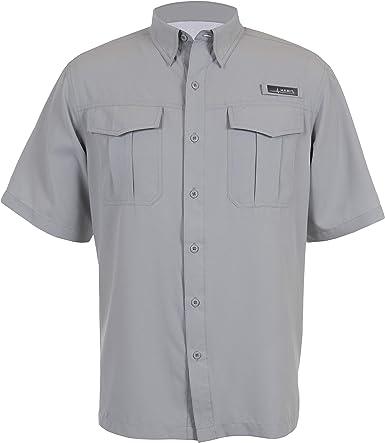 HABIT Men39;s Belcoast River Guide S//S Shirt Bright White