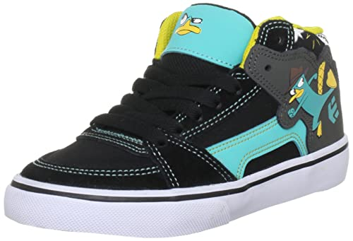 Etnies Disney Kids RVM Vulc Shoe - Black Pink - UK 12 (Jnr) QIQrB