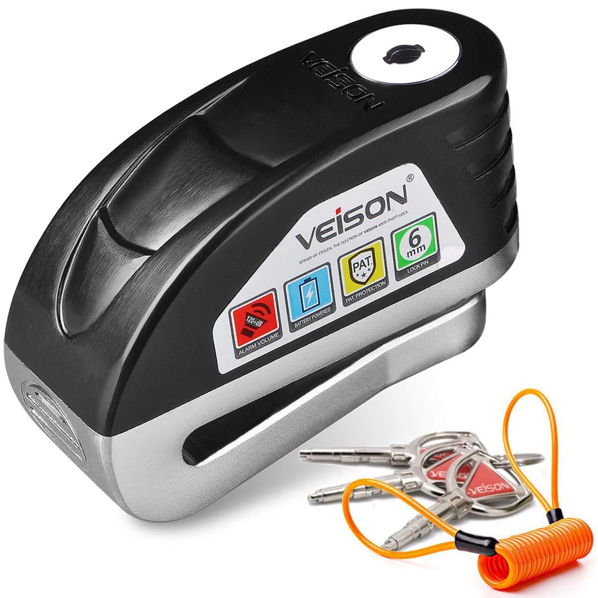 Acekit Veison - Candado antirrobo para disco de freno (acero ...