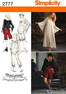 product image for Simplicity Sewing Template Haunt Couture Women's Cosplay Costume Pattern 5 Variations Sizes 14-22