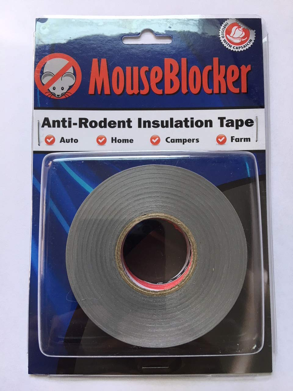 Mouse Blocker Anti-Rodent Insulated Repair Tape or Rodent Tape - The  Deterrent The Pros use