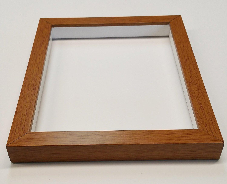Shadowbox Gallery Wood Frames - Honey Pecan, 14 x 14