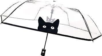 Paraguas autom/ático Essentials Cat con dise/ño de Gato