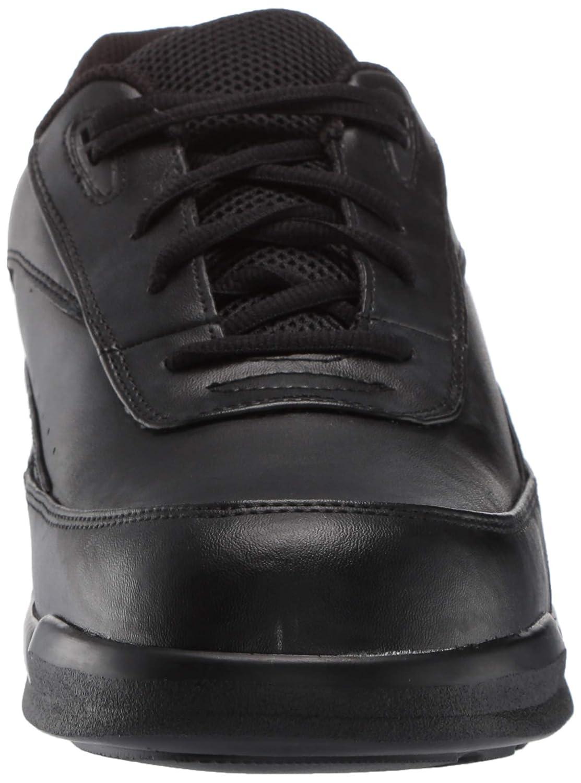 Apex Mens Mens Active Walker Lace Biomechanical Black Shoe 6.5 M US Black
