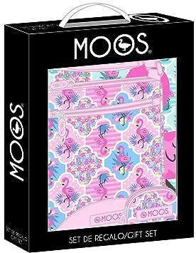 Moos Flamingo Pink Oficial Set de Regalo 280x60x350mm ...