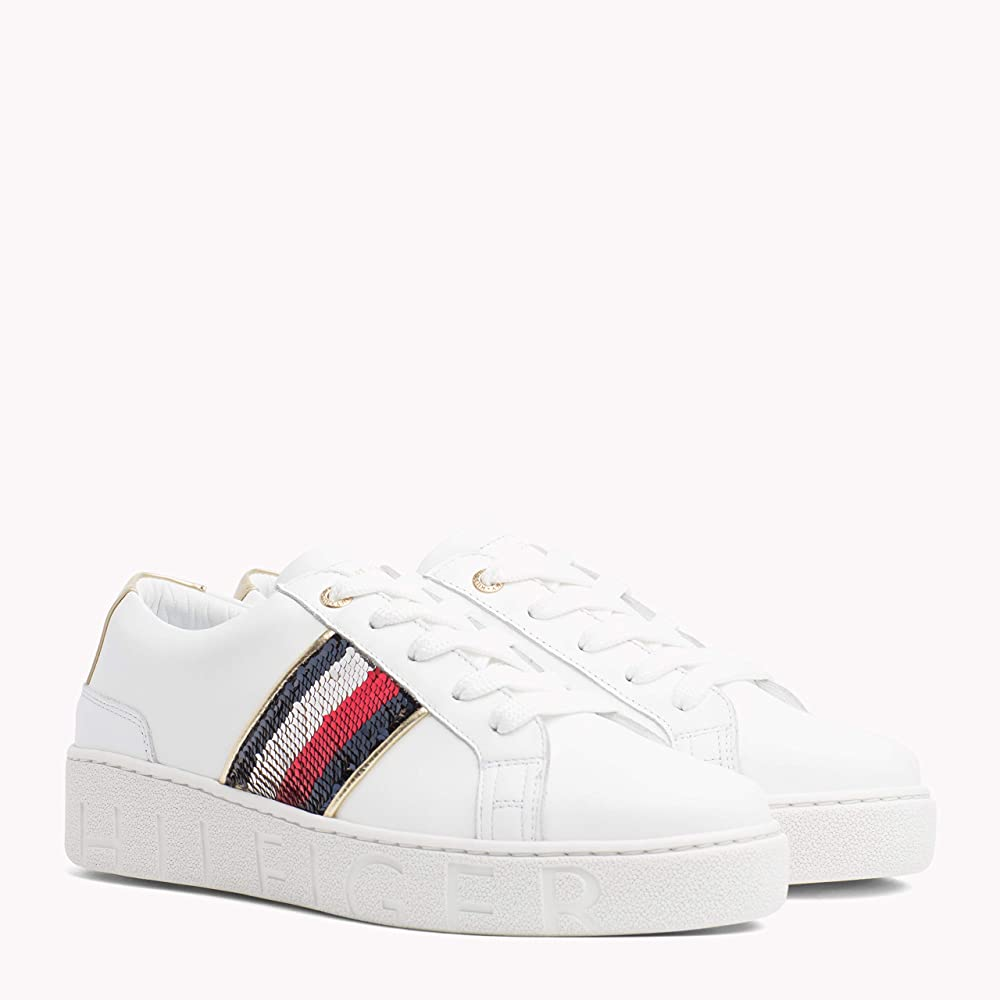 Tommy Hilfiger Sequins Fashion Trainers