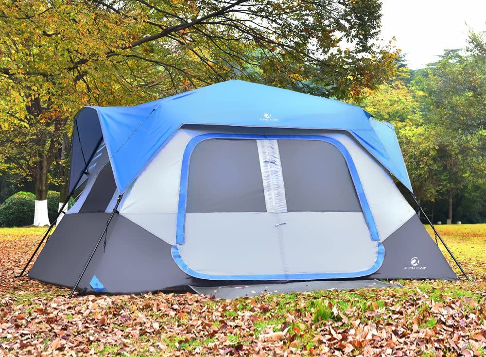 ALPHA CAMP INSTANT POP UP CAMPING TENT