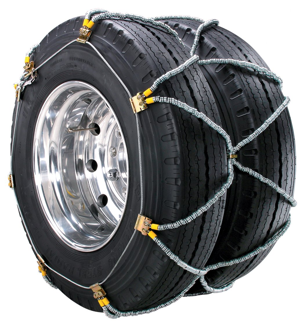 Security Chain Company ZT948 Super Z Dual and Triple Heavy Duty Truck Tire Traction Chain with QuikDraw Tensioning - Pack of 1